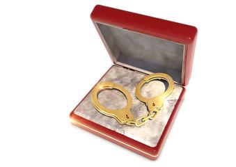 Zwangsheirat -  goldene Handschellen