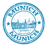 Munich stamp