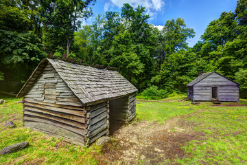 Log Cabins in the Great Smoky Mountains