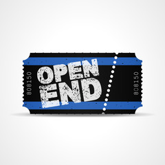 ticket v3 open end I