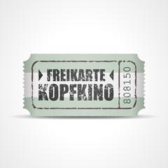 ticket v3 freikarte kopfkino I