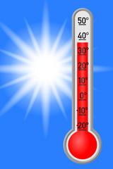 hitze thermometer III