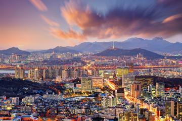 Śródmieście Seulu, Korea Południowa
