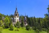 Peles castle, Sinaia, Romania poster