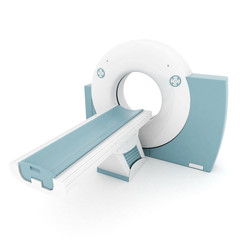 MRI image of the device