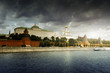 Kremlin, view from Moscow river, Moscow, Russia