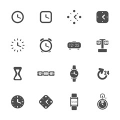 Time theme icons