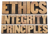 ethics, integrity and principles