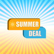 summer deal over rays