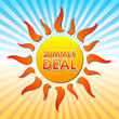 summer deal in sun over rays