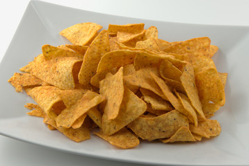 Tortilla Chips in Schale