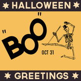 Retro Halloween Greetings
