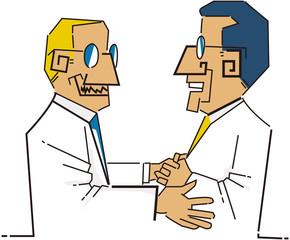 ビジネスシーン 握手