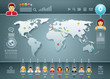 World and People Infographics