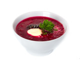 soup, red borsch