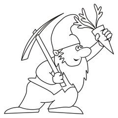dwarf - coloring