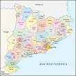 Catalonia, Administrative and territorial division