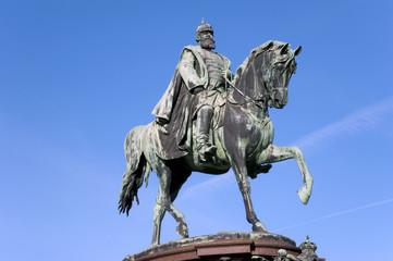 Schwerin Denkmal Friedrich Franz II. von Mecklenburg Detail