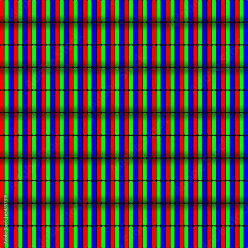 Pixel RGB Fernseher Plasma LED