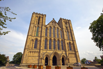 Medieval Cathedral in Ripon, North Yorkshire.