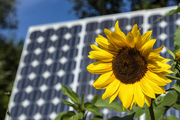 Solaranlage zur Energieeinsparung im Haus