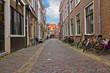street in old town, Haarlem, Netherland
