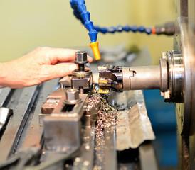 CNC Fräsmaschine Detail
