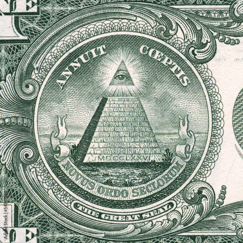 US dollar detail