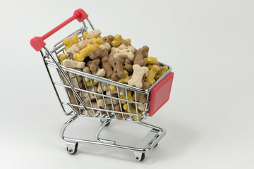 Einkauf von Tiernahrung