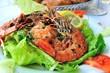 Crevettes cuisiné