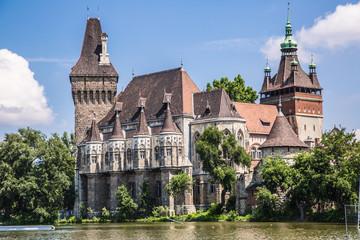The Vajdahunyad castle, Budapest main city park