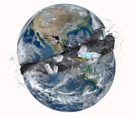 Garbage world