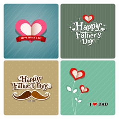 Happy fathers day, love dad collections