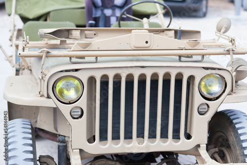 véhicule ancien, jeep