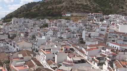 The white Andalusian town of Mijas, Spain