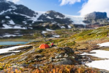 Camping in the Hardangervidda