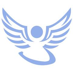 Engel - Flügel und Schweif