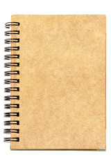 Recycle notebook for taking notes about events