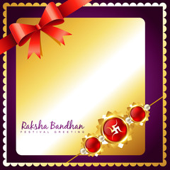 golden rakhi design