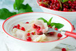 .Vareniki with currant berries