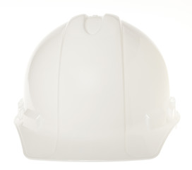 Isolated Hard Hat - Frontal White