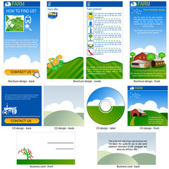 farm template design