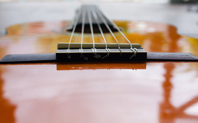 saddle guitar classic