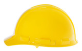 Isolated Hard Hat - Side Yellow