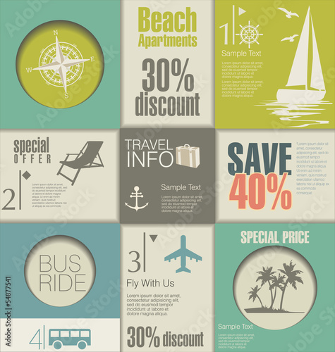 Travel Modern design template