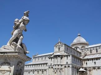 Pisa Dom und Statur