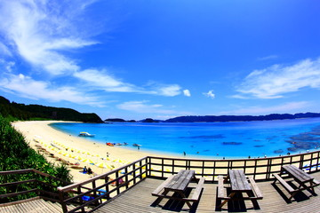 沖縄の海水浴場