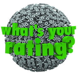 What's Your Rating Percent Sign Score Percentage