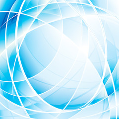 Abstract blue technology digital background.