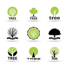 Set of trees (2).